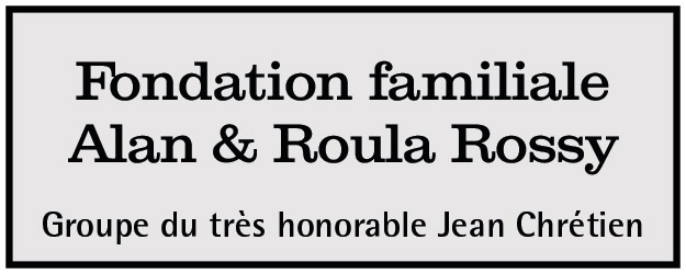 Fondation familiale Alan & Roula Rossy