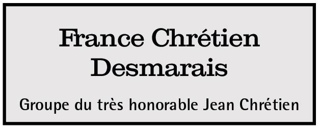 France Chrétien Desmarais