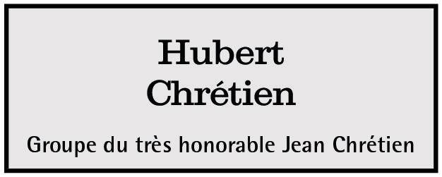 Hubert Chrétien